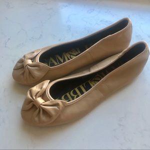 Sam & Libby flat shoes, beige size 6,5